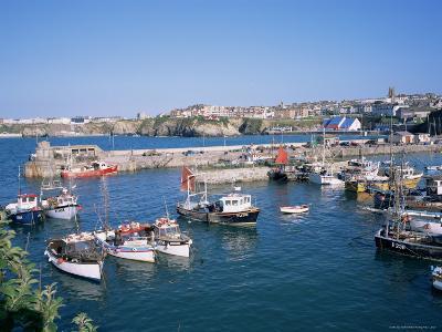 Harbour, Newquay, Cornwall, England, United Kingdom-Roy Rainford-Photographic Print