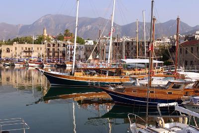 Harbour of Kyrenia (Girne), North Cyprus-Peter Thompson-Photographic Print