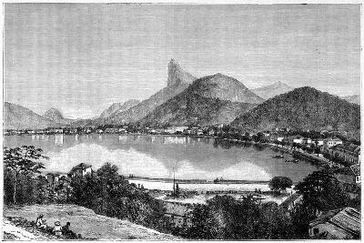 Harbour of Rio De Janeiro, 1898--Giclee Print