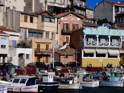 Harbour of Vallon Des Auffes, Marseille, France-Jean-Bernard Carillet-Photographic Print