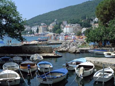 Harbour, Opatija, Croatia-Peter Thompson-Photographic Print
