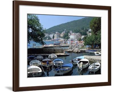 Harbour, Opatija, Croatia-Peter Thompson-Framed Photographic Print