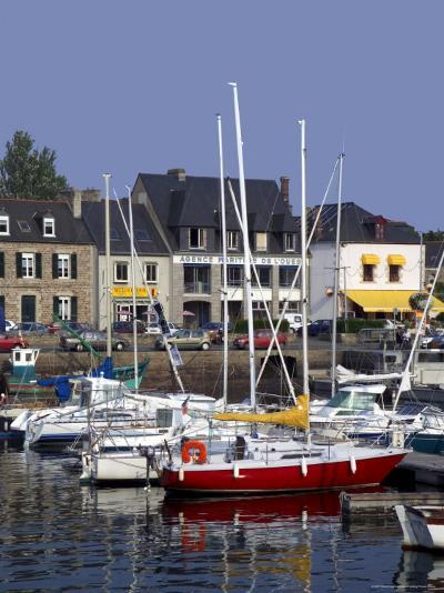 Harbour, Paimpol, Cotes d'Armor, Brittany, France-David Hughes-Photographic Print