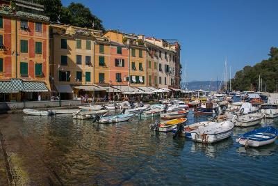 Harbour, Portofino, Genova (Genoa), Liguria, Italy, Europe-Frank Fell-Photographic Print