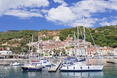 Harbour, Rio Marina, Island of Elba, Livorno Province, Tuscany, Italy, Mediterranean-Markus Lange-Photographic Print