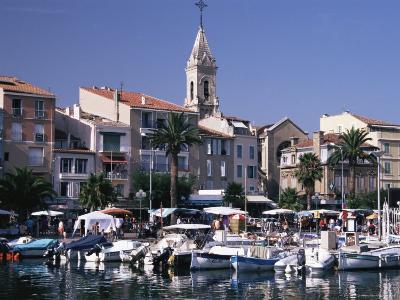 Harbour, Sanary-Sur-Mer, Var, Cote d'Azur, Provence, France, Mediterranean-David Hughes-Photographic Print