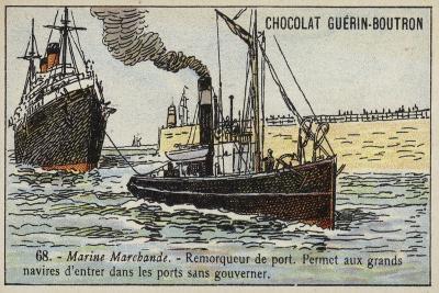 Harbour Tug--Giclee Print