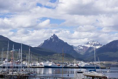 Harbour, Ushuaia, Tierra Del Fuego, Argentina-Peter Groenendijk-Photographic Print