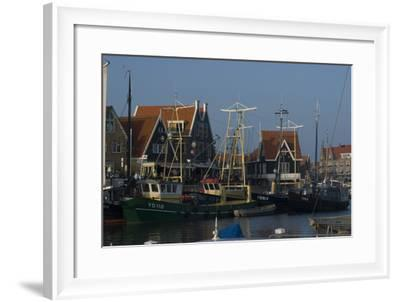 Harbour View, Volendam, Netherlands-Natalie Tepper-Framed Photo