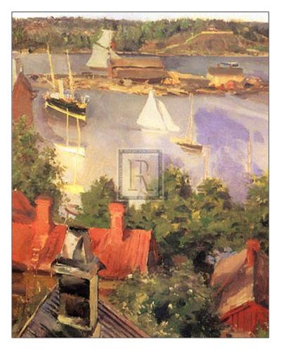 Harbour View-Akseli Kalella-Art Print