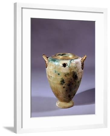 Hard Stone Vase from Tomb of Circle of Mycenae, Mycenaean Civilization, 16th Century BC--Framed Giclee Print