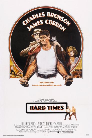 Hard Times, Top from Left: James Coburn, Charles Bronson, Jill Ireland, 1975--Art Print