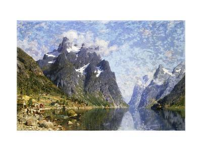 Hardanger Fjord, Norway-Normann Adelsteen-Giclee Print
