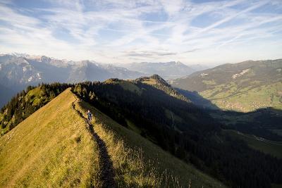 Hardergrat (Ridge) Hike Above Lake Brienz, Switzerland-Axel Brunst-Photographic Print