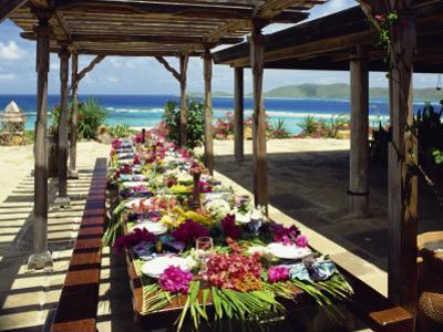 Al Fresco Dining, Bermuda, Atlantic Ocean, Central America by Harding Robert