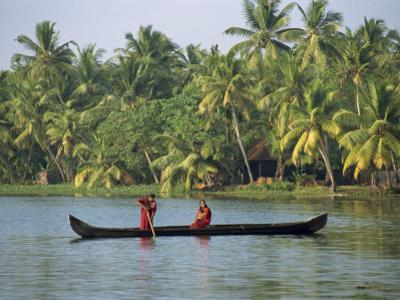 Backwater, Kerala State, India by Harding Robert