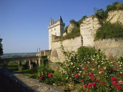 Chateau De Chinon, Indre-et-Loire, Loire Valley, France, Europe by Harding Robert