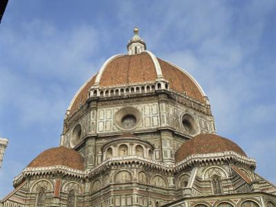 Dome of the Duomo in the Town of Florence, UNESCO World Heritage Site, Tuscany, Italy, Europe by Harding Robert
