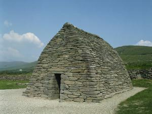 Gallarus Oratory, Dating from the 9th Century, Dingle, County Kerry, Munster, Republic of Ireland by Harding Robert