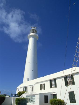 Gibbs Hill Lighthouse, Bermuda, Atlantic Ocean, Central America by Harding Robert