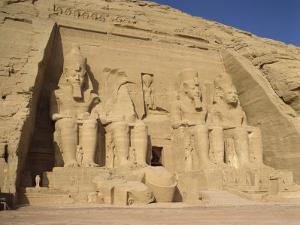 Great Temple of Ramses II, Abu Simbel, UNESCO World Heritage Site, Nubia, Egypt by Harding Robert