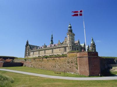Kronborg Castle, Helsingor, Hamlet's Castle, Denmark, Scandinavia by Harding Robert