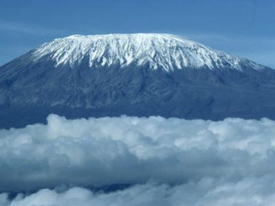 Mount Kilimanjaro, UNESCO World Heritage Site, Seen from Kenya, East Africa, Africa by Harding Robert