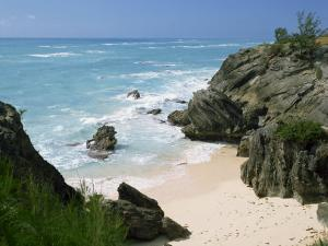 South Coast Beach, Bermuda, Central America, Mid Atlantic by Harding Robert