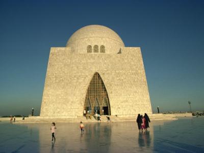 Tomb of Mohammed Ali Jinnah in Karachi, Pakistan by Harding Robert