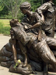 Vietnam War Memorial, Washington D.C., United States of America, North America by Harding Robert