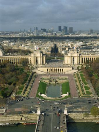 View of Paris from the Eiffel Tower, Paris, France, Europe by Harding Robert