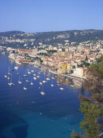 Villefranche, Alpes-Maritimes, Cote D'Azur, French Riviera, Provence, France, Mediterranean, Europe by Harding Robert