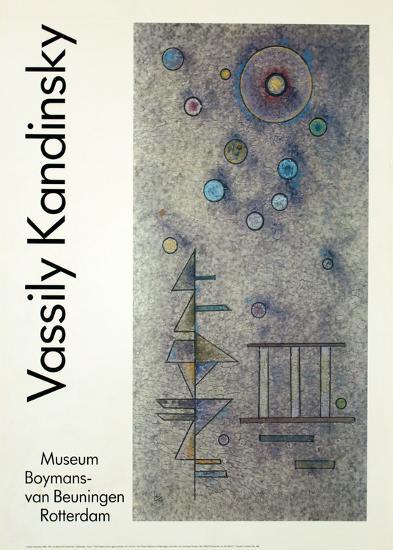 Hardly-Wassily Kandinsky-Art Print