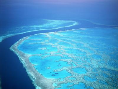 Hardy Reef, Queensland, Australia-David Ball-Photographic Print