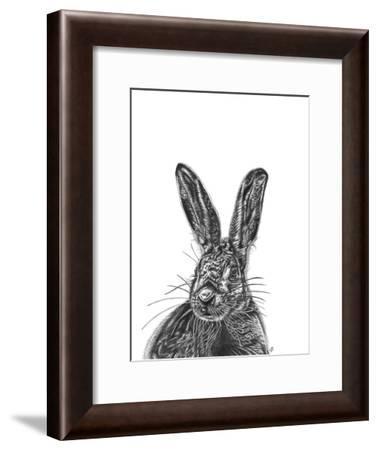 Hare--Framed Giclee Print