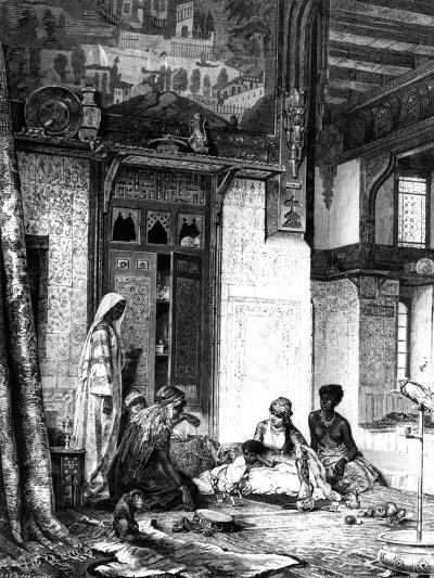 Harem in a Caliph Mansion, 1880--Giclee Print