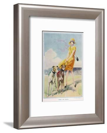 Hares and Graces by Harry Woolley--Framed Giclee Print