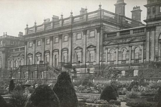 'Harewood House, the residence of the Rt. Hon. The Earl of Harewood', c1913-Unknown-Photographic Print