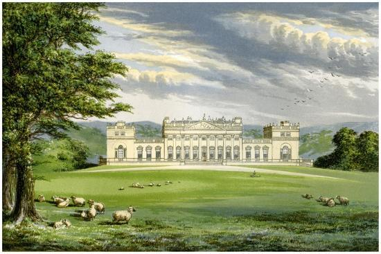Harewood House, Yorkshire, Home of the Earl of Harewood, C1880-AF Lydon-Giclee Print