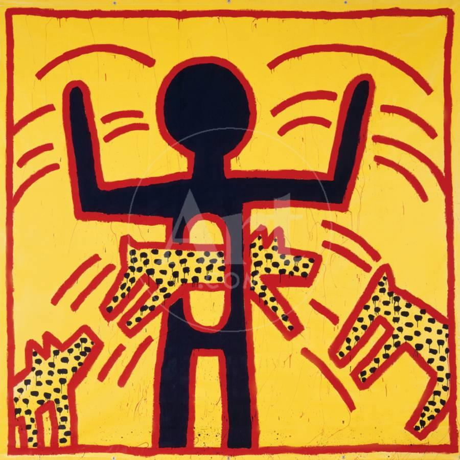 Haring - Untitled October 1982 Private Collection Giclee Print by ...