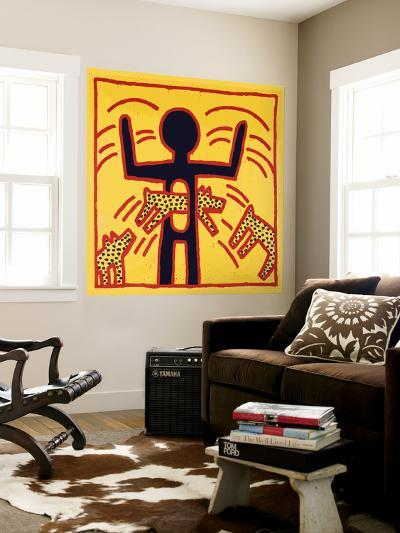 Haring - Untitled October 1982 Private Collection-Keith Haring-Wall Mural