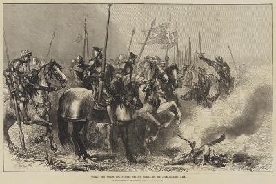 Hark! Our Steeds for Present Service Neigh-Sir John Gilbert-Giclee Print