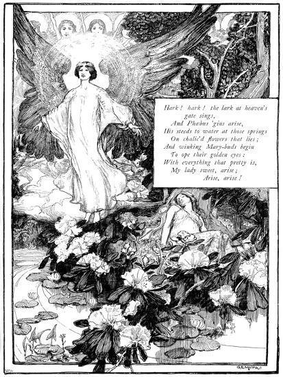 Hark! the Lark, 1895-Giraldo Eduardo Lobo de Moura-Giclee Print