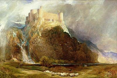 Harlech Castle: Four Square to All the Winds That Blow-Henry Clarence Whaite-Giclee Print