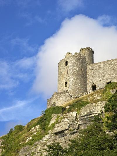 Harlech Castle in Summer Sunshine, UNESCO World Heritage Site, Gwynedd, Wales, UK, Europe-Peter Barritt-Photographic Print