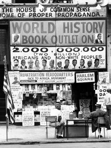Harlem Bookstore Named 'The House of Common Sense and the Home of Proper Propaganda'