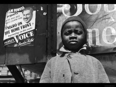 Harlem Newsboy-Gordon Parks-Photo