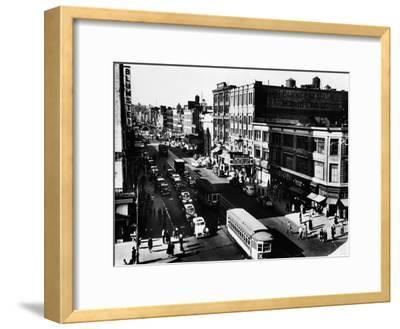 Harlem's Famous Thoroughfare, 125th Street in 1943