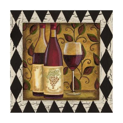 Harlequin and Wine I-Carolee Vitaletti-Art Print