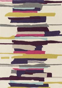 Harlequin Area Rug - Violet/Magenta 5' x 8'